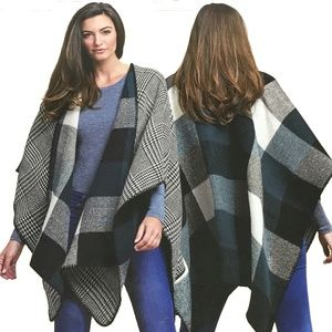 Woolrich Reversible Blanket Wrap-NWT-One Size